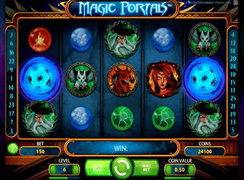 Magic Portals в казино Вулкан