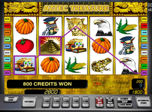 Играть в автомат Aztec Treasure в казино онлайн